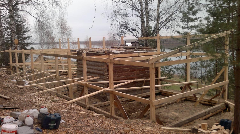 Строим террасу